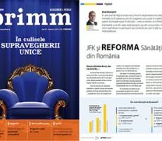 Sunt editorialist la Revista PRIMM Asigurări & Pensii
