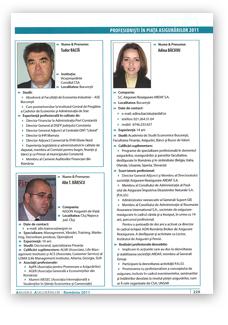 Anuarul Asigurărilor 2011, Prezentare, martie 2011