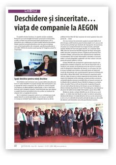 Revista Primm Asigurări & Pensii, Reportaj / Interviu, iulie - august 2011