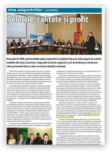 Revista Primm Asigurări & Pensii, Eveniment, octombrie 2009 -1